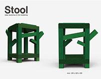 Stool design (2010)