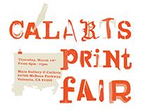 CalArts Print Fair 2015