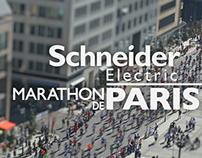Schneider Electric Marathon de Paris - TV ad & Bumpers