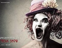 American Horror Story Freakshow - Fan Poster