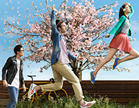 Onitsuka Tiger SS13 global campaign - Craft of Movement