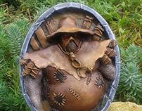 Harvest golem - Hearthstone sculpture