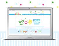 Onbi Baby Brand Identity & Web Design