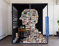Mobile bookshop - NUMABOOKFACE