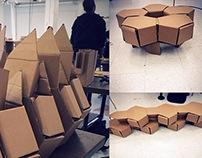 Modular Cardboard Chair Project