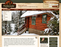 Website Design for Bearskin Lodge