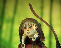 Dragon's Crown Elf Archer