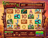 "Slot machine - ""Outback wildlife"""