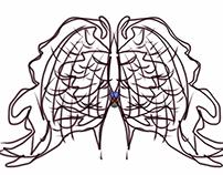 ErnEDITS ART ( inkblot Twis)t