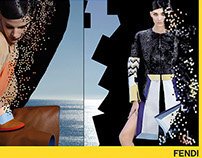 Fendi Advertising ss 2013