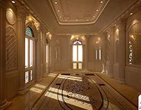 Classic Italian style villa, UAE, Dubai.