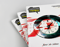 Just in time · Canarias Creative Fanzine Cover