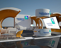 Aramco - 3d Exhibition design ( Concept B )