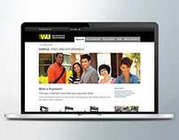 Western Union Business Solutions microsite