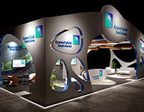 Aramco - 3d Exhibition design ( Concept C )