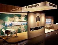 Rosneft - 3d Exhibition design - UAE, Dubai.