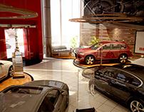 Brilliance - Car showroom - UAE, Dubai.