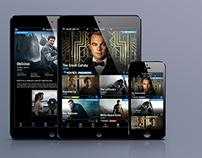 TV Highlights Mobile App Mockup
