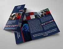 Company Brochure Tri-Fold Brochure Vol.12