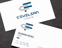 Civilian Force Logo & Business Card