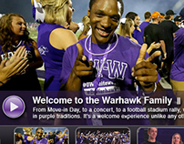 UW-Whitewater's website and other web materials.