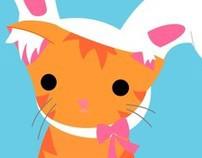Acerca de un gato naranja