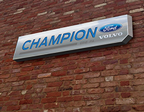 Champion Ford Rebranding