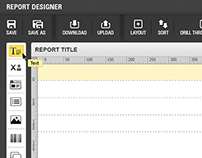 Report Tool UI Design
