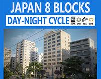 Japan 8 Blocks