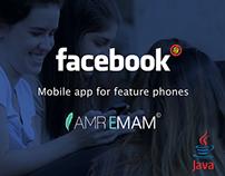 Facebook Feature phones Redesign Concept