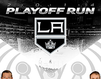 LA Kings Playoff Run Infographic