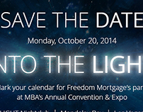 Freedom Mortgage Save the Date Email