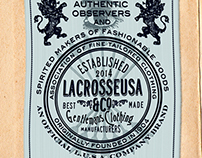 Labels, Icon & Monogram for Lacrosse U.S.A.
