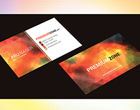 Free Colorful & Clean Business Card template