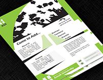 University Promotional Flyer
