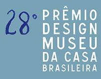 28º Prêmio Design Museu da Casa Brasileira (MCB)
