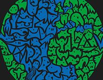 Earthlings Print / Tshirt
