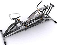 Mobile Multifunctional Bicycle Ergometer