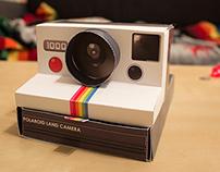 Polaroid Desk Organizer
