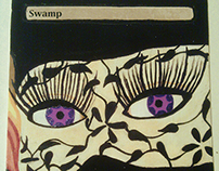 MTG Alters - Starry Eyes