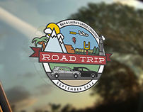 Cross Country Road Trip Logo
