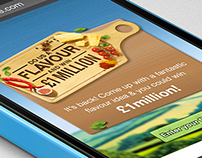 Walkers 'Do Us A Flavour' Mobile Ad Pitch