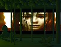 C4D scene design