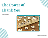 Mind Power: The Power of Thank You