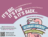 Alumaflamingo Print Ad