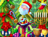 Free Holiday Themed Stock Package