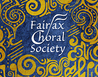 Fairfax Choral Society Season Collateral
