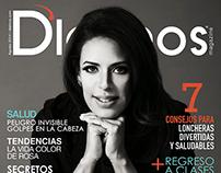 D'Latinos Magazine COVER Agosto 2014