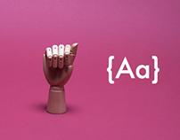 A B C ( El alfabeto manual o dactilológico )