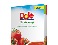 Promotional Booklet about soup line